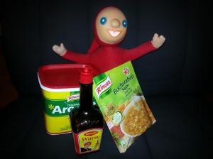 """Mein """"Knorrli"""" mit meinen Favorites von Knorr!"""