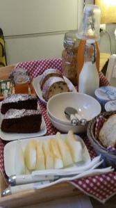 Frühstück in Bari...!