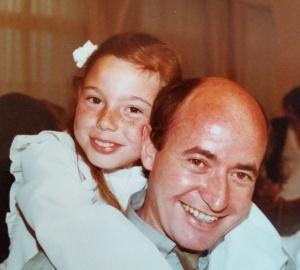 Pa mit meiner Schwester Bettina